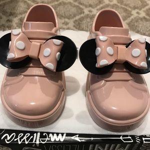 Mini Melissa Mini Mouse Sneakers - Size 8